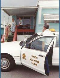 Senior Volunteer Patrol Honors Its Own With Brick Dedication