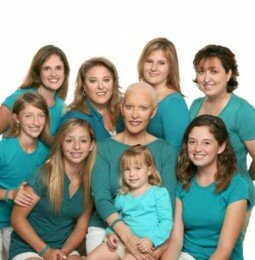 Nine Girls Ask? For A Cure For Ovarian Cancer