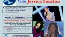 "Local ""View & Vote"" Event For American Idol's Jessica Sanchez"