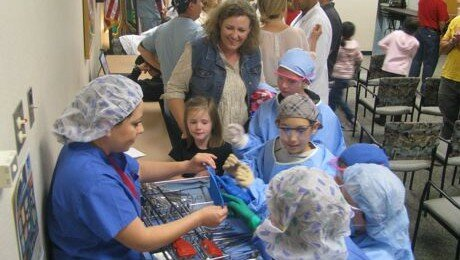 Liberty Kids Become Robotic Surgeons