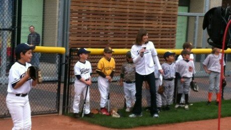 Eastlake Little League Introduces the Padres at Petco Park